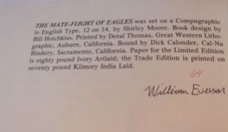 The Mate-Flight of Eagles (Signed Limited Edition)