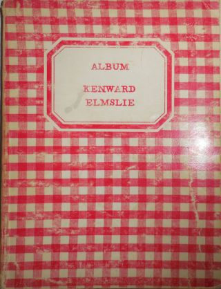 Album (Inscribed by Elmslie). Kenward with Elmslie, Joe Brainard