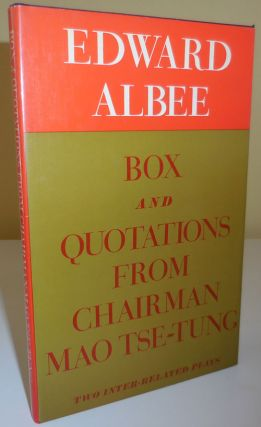 Box and Quotations From Chairman Mao Tse-Tung (Signed). Edward Albee