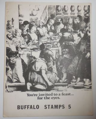Buffalo Stamps 5. Dick Gallup, Andrei, Codrescu, Andrew, Wylie