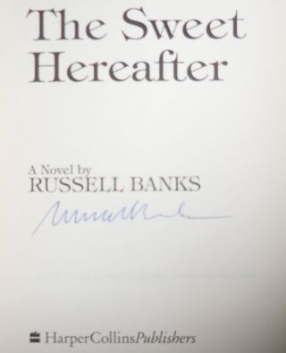 The Sweet Hereafter (Advance Reading Copy - Signed)