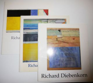 Richard Diebenkorn / Richard Diebenkorn / Richard Diebenkorn New Work (Three M. Knoedler & Co....