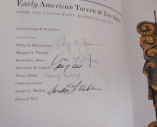 Lions & Eagles & Bulls - Early American Tavern & Inn Signs (Inscribed by Schoelwer and Signed by 5 of the Contributors)