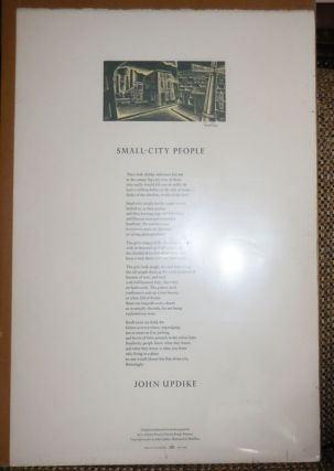 Small-City People (Signed by Artist). John with Updike, Don Rico