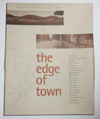 The Edge of Town. Christo Victor Burgin, Hamish Fulton Jeanne-Claude, Stephen Willats, Alan...