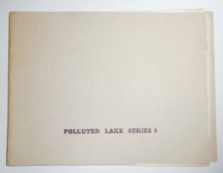 aster F (Polluted Lake Series 6). d. a. Cleveland School - levy