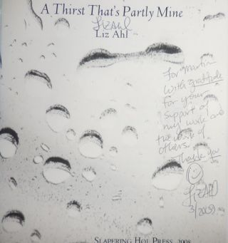 A Thirst That's Partly Mine (Inscribed)
