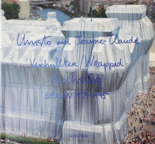 Wrapped Reichstag Berlin 1971 - 1995 (Signed by Christo and Jeanne-Claude). Art - Christo and...