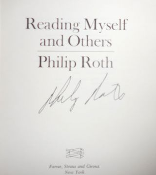 Reading Myself and Others (Signed)