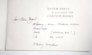 Myths & Texts (Inscribed to fellow poet Don Byrd)