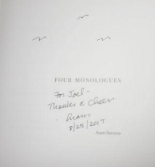 Four Monoluges (Inscribed)