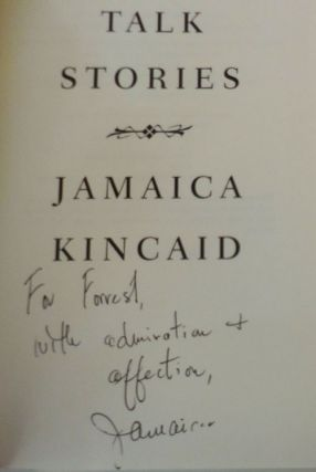 Talk Stories (Signed and Inscribed)