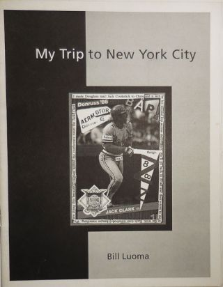 My Trip To New York City (Inscribed and with Insert