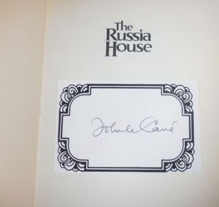 The Russia House (Signed on a Afixed Bookplate)