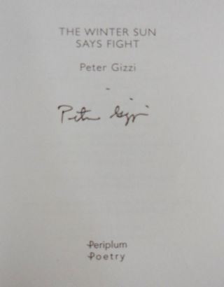 The Winter Sun Says Fight (Signed)
